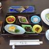 わん楽 - 料理写真:鯵の干物と長扶米を新米で〜♬