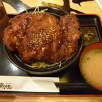 九州 熱中屋 - チキンカツ丼¥500
