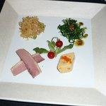 メゾン・ド・ユーロン - 夜のコースの前菜5種