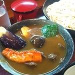 そば処寿庵 - スープカレーともりそば