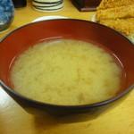 とんかつ いちかつ - 味噌汁