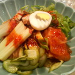 美福苑 - ビビン麺