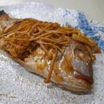 シェフボン - 連子鯛の酢漬け