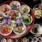 21801294 - 数量限定 八色丼1800円