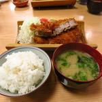 とんかつ武蔵 - 黒豚ロースカツ定食1500円