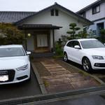 すし処 ひさ田 - 今回は車2台に分乗して伺いました。