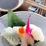 オコゼにぎり寿司(3貫)
