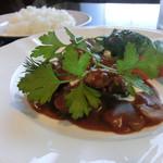 レストラン亀遊亭 - ビーフストロガノフ