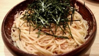 スパゲティ 心 - タラコとツナの大盛り