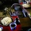草至庵 - 料理写真:もり(新そば)を囲炉裏で頂く