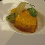 イル・クオーレ - <2013年7月>かぼちゃと和三盆のプリン