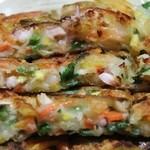 明洞 - 海鮮野菜チヂミ
