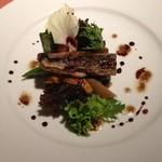 21814502 - 秋刀魚の燻製と自家菜園の秋ナスのマリネと季節野菜のサラダ仕立て