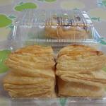21819590 - パイはサクサク甘さは控えめでとても美味しいアップルパイです