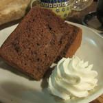 どんぐり舎 - シフォンケーキ チョコ