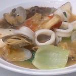 チェリージャム - 鱈(たら)の魚介スープ煮 アクアパッツァですかね。
