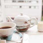 カカオサンパカ - 有機コーヒーはポットで。 '13 10月上旬