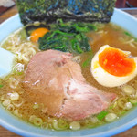 そば処三崎 - 醤油とんこつラーメン650円