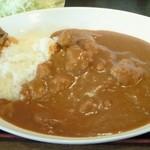 レストラン角  - カレーライス(激辛)(850円)