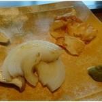 21824496 - 焼き野菜・・蕪・エリンギ・玉ねぎ。