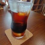 ゆったり あけもどろ - 食後にアイスコーヒー(お代わりOK)