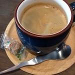 トワモワカフェ - グアテマラのコーヒー。 ペルーシュのシュガー付(^.^)