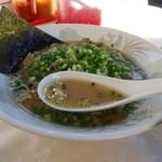 ちく善 - 豚骨スープ