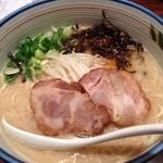 麺や純氣 - 【再々訪】純氣そば(680円)