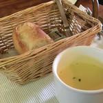 タベルナ  - Cランチ、パン、スープ