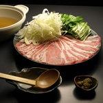 尹 MASA - 豚しゃぶ カレー味と和風味があります。