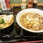 小諸そば - ミニヒレカツ丼セット(590円)