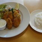 キッチン TANKO - 2013年10月 牡蠣フライセット 1350円