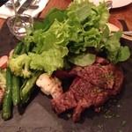 Bistro Feve - 牛リブロース肉のステーキ