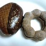 ミスタードーナツ - 焼き栗ドーナッツチョコ、ポン・デ・濃厚マロンクランチ