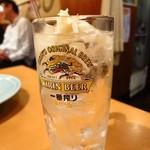 寿司・居酒家 海福 - ガリハイ380円