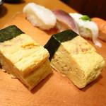 寿司・居酒家 海福 - 特製玉子150円