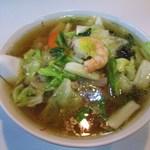 明華園 - 広東麺