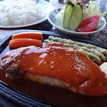 ねむ - ポークステーキ+ライス