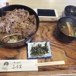 郷土料理 味の館 ふる里 - 肉重?