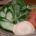 釣り魚の店舟武 - 生野菜