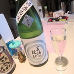 日本酒バー にゃごりん - 雪の茅舍 純米吟醸 美酒の設計 無濾過生原酒