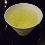茶カフェ 上辻園 - 冷たい煎茶
