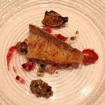 ラ・ブランシュ - 活け締めの天然 甘鯛のポワレ サッパリとした野菜のソースで