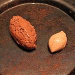 ラ・ブランシュ - チョコレート ムース と チョコレート アイスクリーム