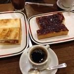 コンパル - モーニング&小倉トースト