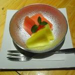いろり割烹 稲穂 - デザート