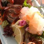 魚信旅館 - イセエビ刺身