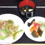 モリカレー - 料理写真:一汁三菜