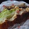 ログキット - 料理写真:ビーフのバーグが☆ボリューム☆☆ソースが袋の底に