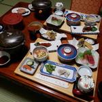 龍鳴館 - 料理写真:夕食